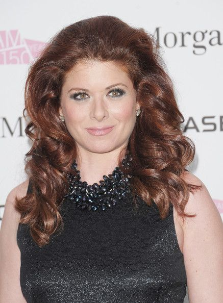Debra Messing Long Curls - Debra Messing added a lot of volume to her fiery curled tresses for the BAM 150th Anniversary Gala.