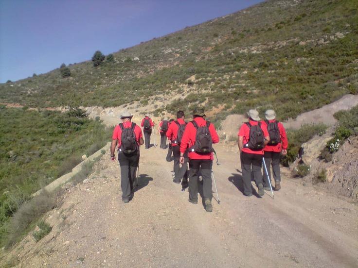 Comenzamos el descenso de regreso por el camino que va a la Villa Turistica o al Nacimiento