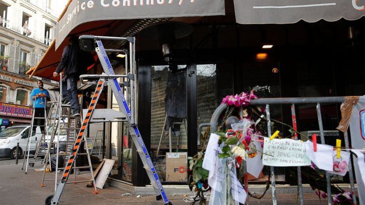 Cafe Where 5 Died in Nov. 13 Paris Attacks Reopens #Cafe, #Paris, #Attack