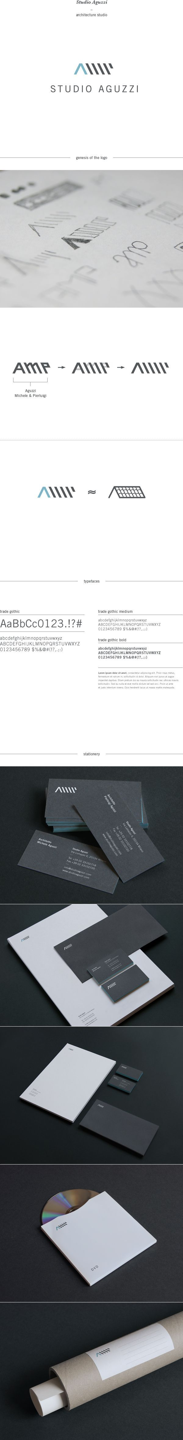 Studio Aguzzi - Architecture Studio by Giorgia Smiraglia, via Behance