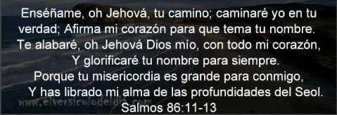 Salmo 86:11 enfoca la atención en otro factor importante: la oración. Jehová aceptó aquella oración, pues hizo que se incluyera en la Biblia. Para cultivar el temor piadoso, nosotros también tenemos que pedir ayuda a Jehová en oración, y nos beneficiará hacerlo con fervor y con frecuencia. (Lucas 18:1-8.)