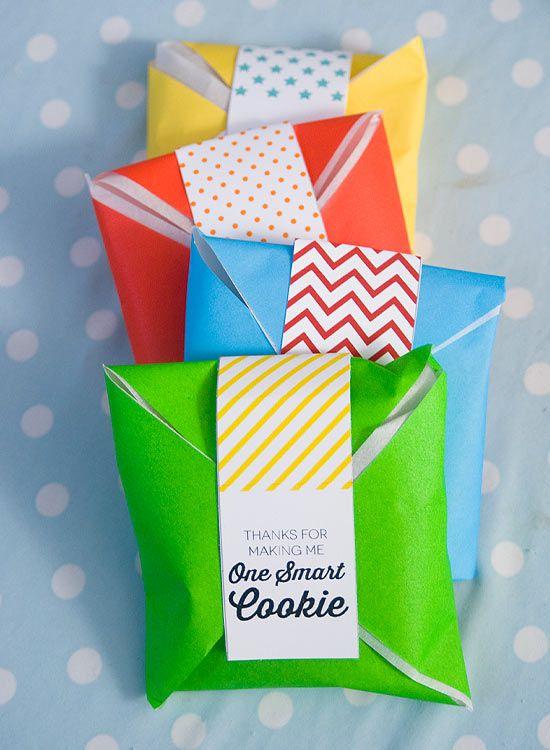 One smart cookie on onecharmingparty.com #smartcookie #teachergift