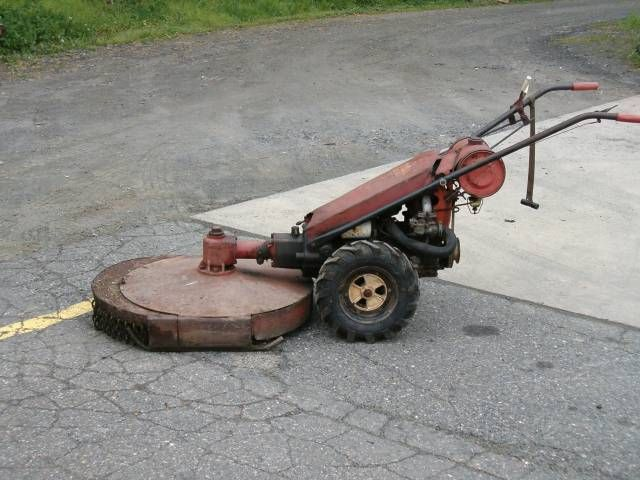 gravely garden tractor.