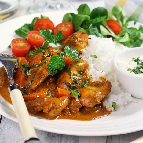 Kyckling Tikka Masala