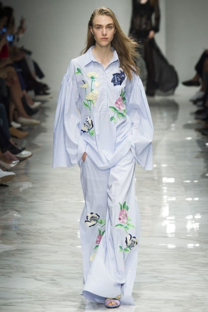 blumarine ss 2016, pijamas idea, uscire in pigiama, theladycracy.it, fashion blog italia