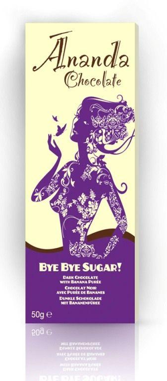 Ananda Bye Bye Sugar! suklaa - Ekokauppa Ekolo verkkokaupasta