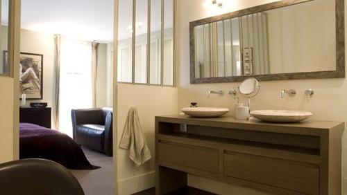 Chambre et Salle de bains by sylvie Bagros