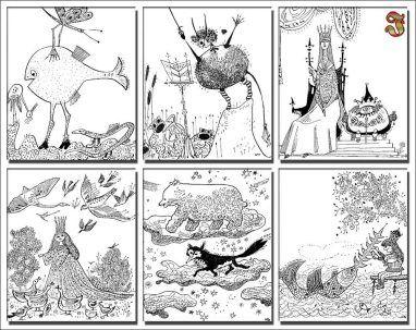 Lisie opowieści- ilustracje Ignacy Witz