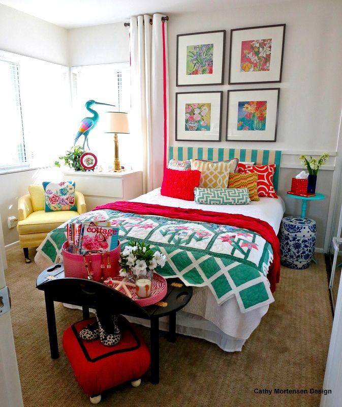Si te gustan mucho los #colores, ¡no renuncies a ellos! ya ves lo bien que quedan combinados en este #dormitorio.