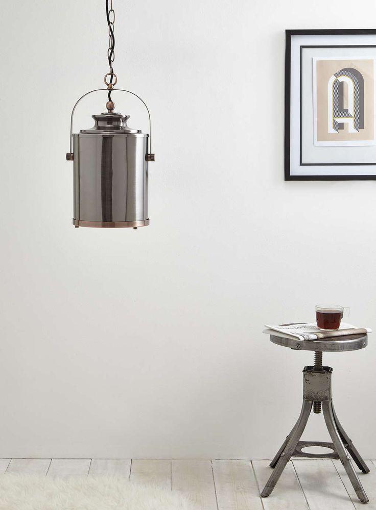 Copper Isaac Pendant Light - BHS