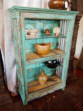 Indian bookcase #bookcase #vintage