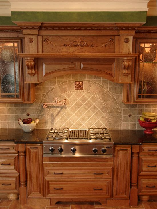 Luxurious future kitchen color ideas with oak cabinets