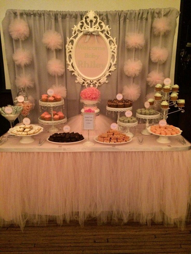 Child Bathe Dessert Desk By Bizzie Bee Creations Look Baby Shower