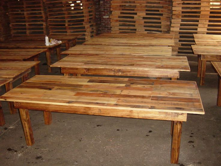 Image Detail For Long Wooden Old Looking Farm Tables