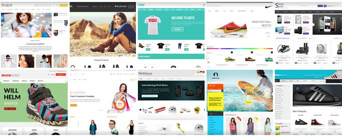 Free eCommerce HTML Templates