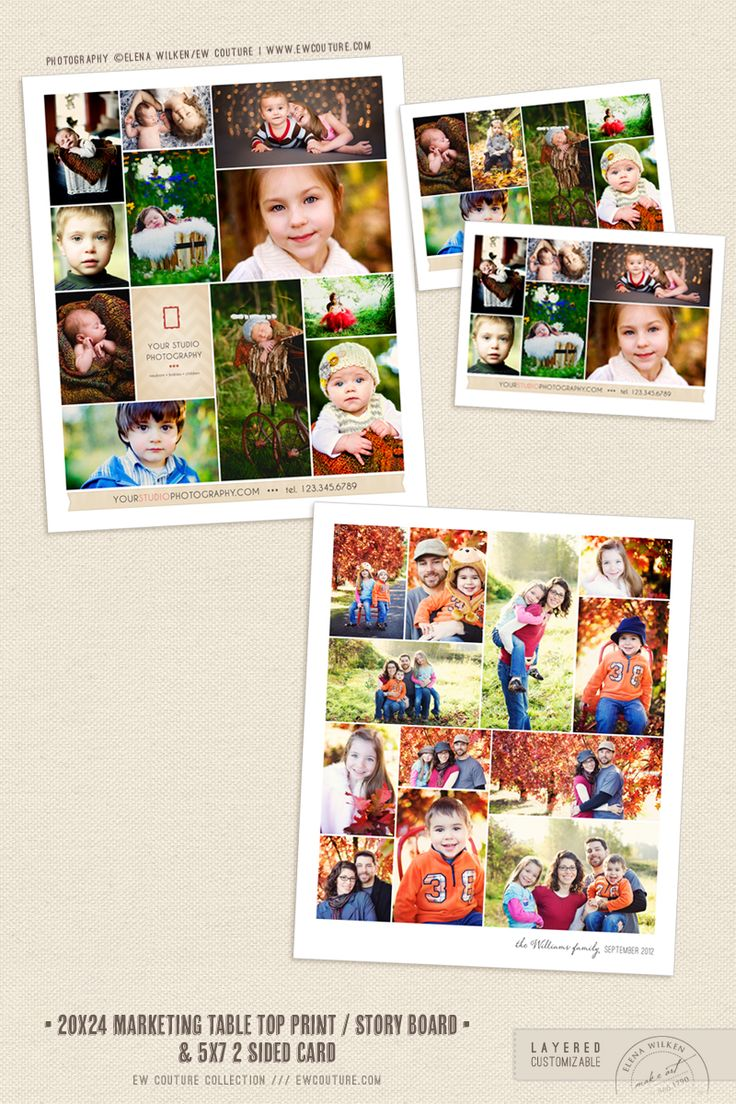 Free 20x24 story board / table top display - News & Musings - Photographer Photoshop Templates and Marketing Materials