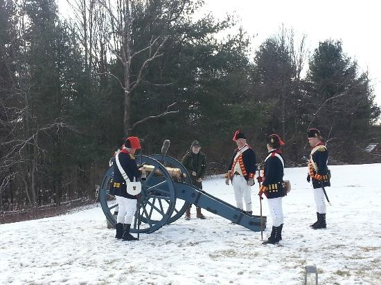 Reenactment at #SaratogaBattlefield http://www.saratoga.org/visitors
