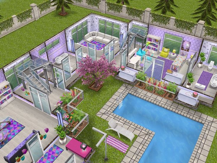 16 best Sims freeplay house design 2 images on Pinterest House