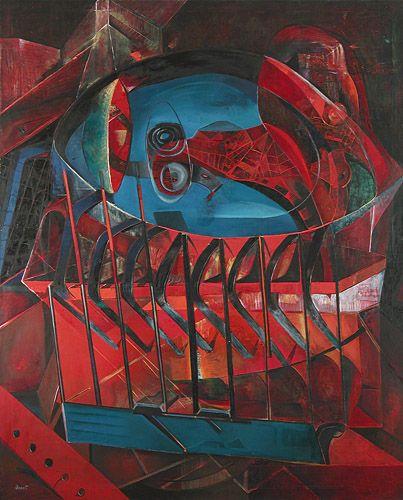 History of Art: Enrico Donati - L'enigme vent