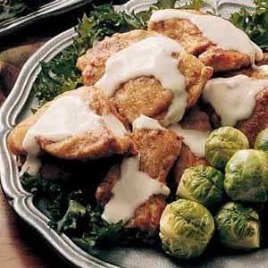 Hasenpfeffer - The tender, flavorful rabbit meat combined with the sour cream and seasonings makes a wonderful dish.