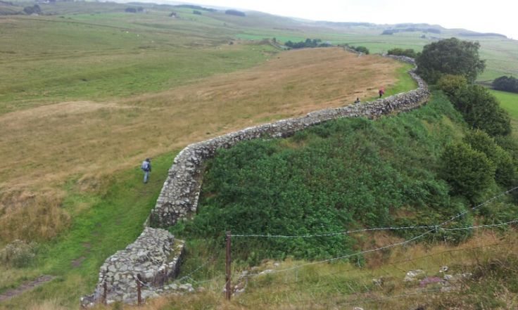 Muro de Adriano. Hadrian's Wall.