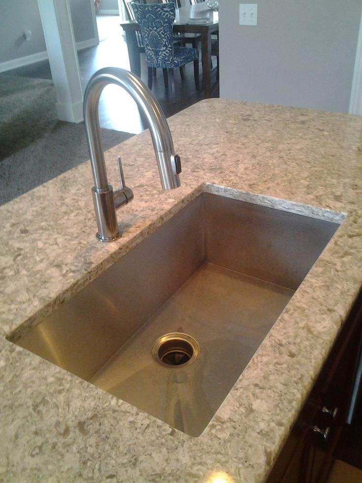 Quartz Stone Kitchen Sink : Kitchen Sink, Stainless Steel, Undermount Sink, Cambria Quartz [Copper ...
