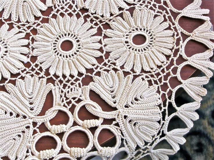 Irish Crochet Lace from Brittany | by vashtirama