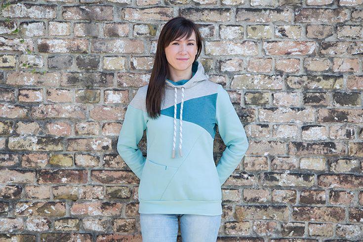 hoodie selber naehen modestil mode zum selbermachen naehen