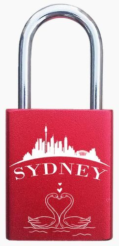 Sydney lovelocks engraving, engraved padlocks. http://foreverlovelocks.com/