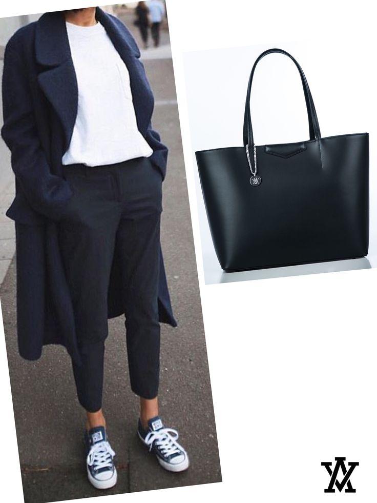 Italian leather handbags  Code: RICCA black shoponline➡️www.adelevian.com