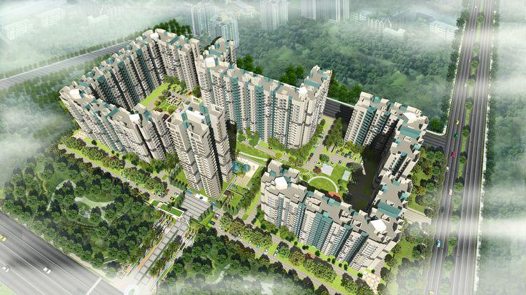Gulshan Ikebana Aerial View