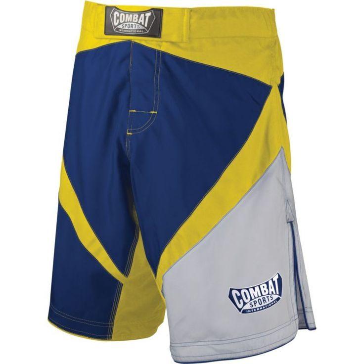 Combat Sports Fight MMA Boardshorts, Adult Unisex, Size: 38, Blue
