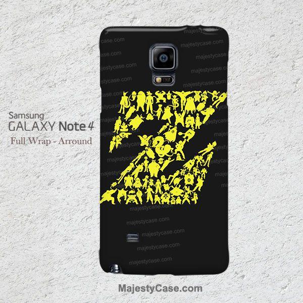 Dragon Ball Z Samsung Galaxy Note 4 Case 5 3 2 Cover - Majesty Case