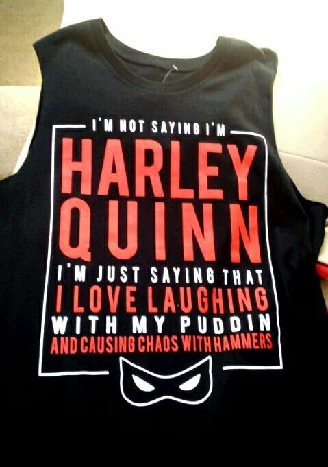 Harley Quinn shirt from Hot Topic
