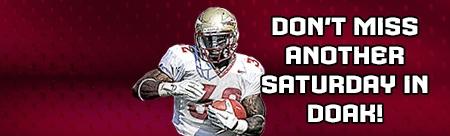 FSU Seminoles--one of my two favorite college teams.   Daughter Stephanie attended FSU.