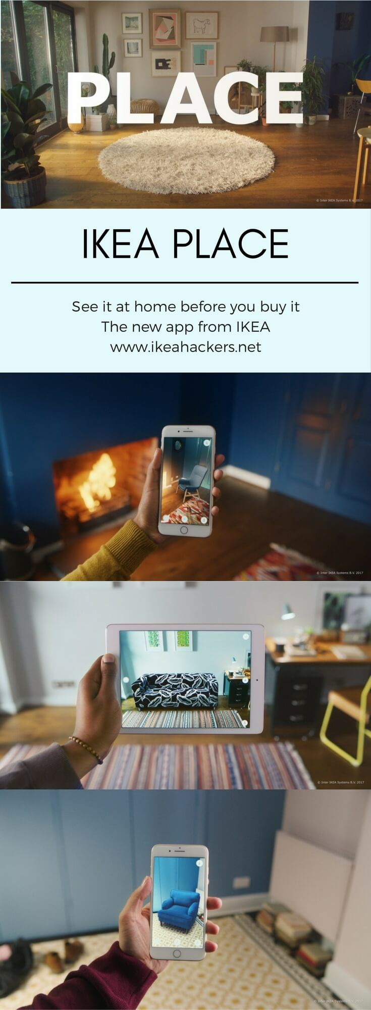 """IKEA Place lets you """"see"""" it in your home before you buy it http://www.ikeahackers.net/2017/09/ikea-place-lets-envision-home-buy.html"""