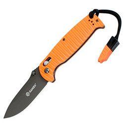 2017 оранжевые ножи кухонные Ножи Ganzo G7413P-Or-WS Оранжевый Складной кухонный нож для ножей G10 Blade 440c дешево оранжевые ножи кухонные