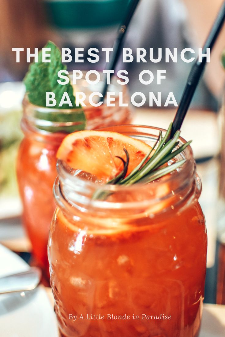 As most of you know, I am currently living in Barcelona. In my free time, I love exploring the best brunch spots of Barcelona. Because I got many questions about tips/recommendations, I decided to write about the must visit spots in Barcelona. Check them out now!