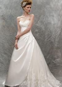 Contemporary Wedding Dresses and Vintage Inspired Bridal Gowns | W153 | True Bride