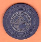 Kentucky Club, Covington KY, 1940s, silver inlay, illegal club casino poker chip - http://collectibles.goshoppins.com/casino/kentucky-club-covington-ky-1940s-silver-inlay-illegal-club-casino-poker-chip/