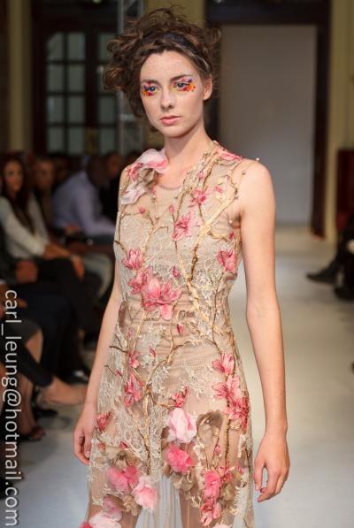 Eden dress, unique