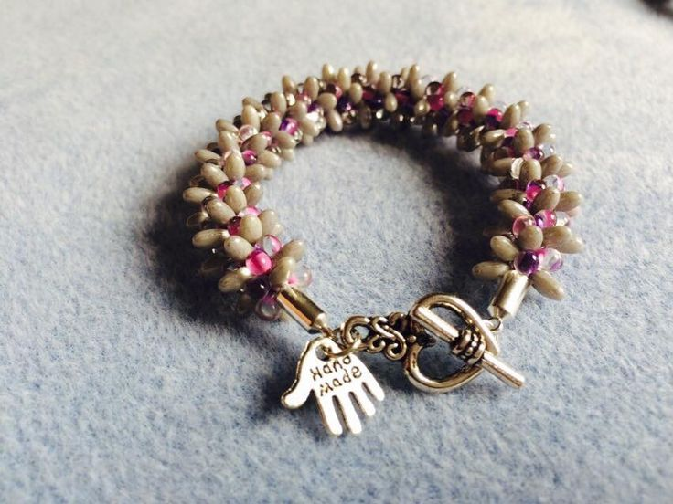 Slightly smaller bracelet made for a child