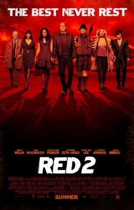 Red 2 ---Another car chase/automatic weapon movie with big stars...at least this one had a sense of humor.