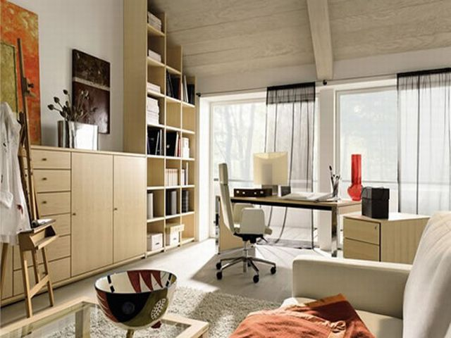 50 home office ideas working from your home with your style - Modern Home Office Guest Room