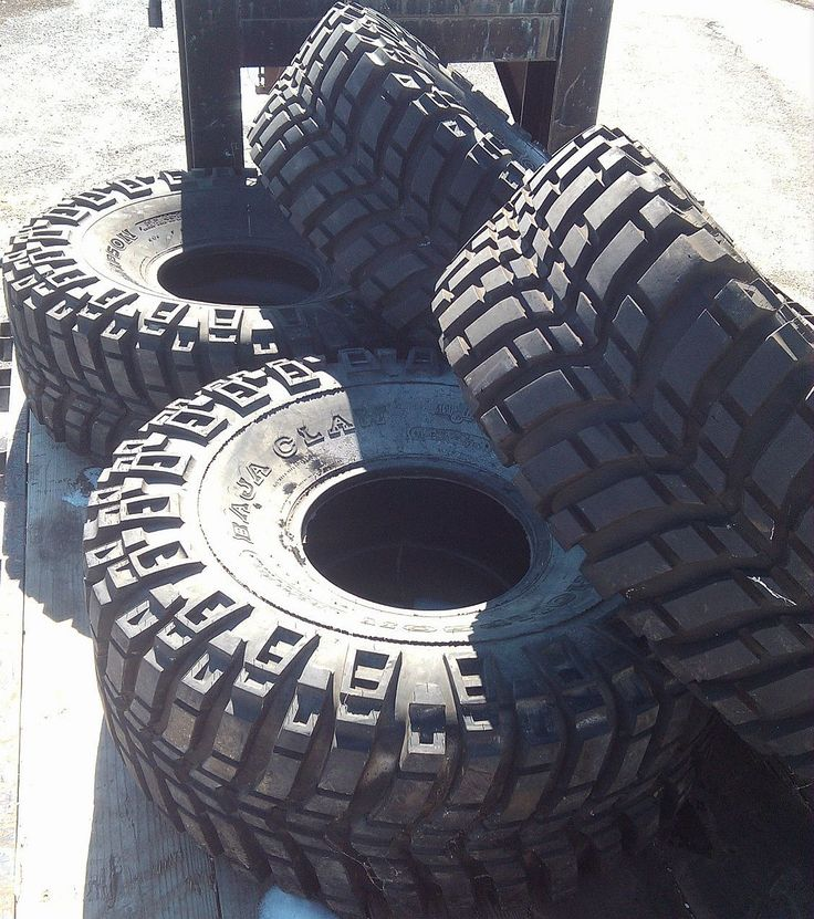 Mickey Thompson Baja Claw Tires  (46/19.5-16 Used Truck Mud & Rock Crawler Tires)