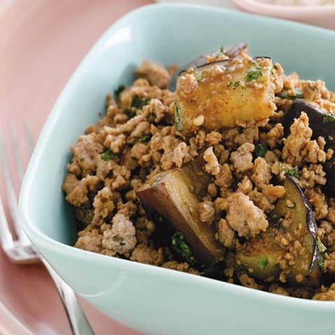 Тайские баклажаны со свининой: как приготовить баклажаны, рецепт