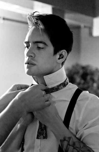 Brendon Urie from Panic! at the Disco; #men