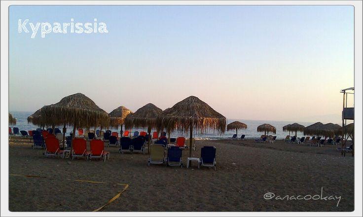 #Greece #summer #beach #morning #sand