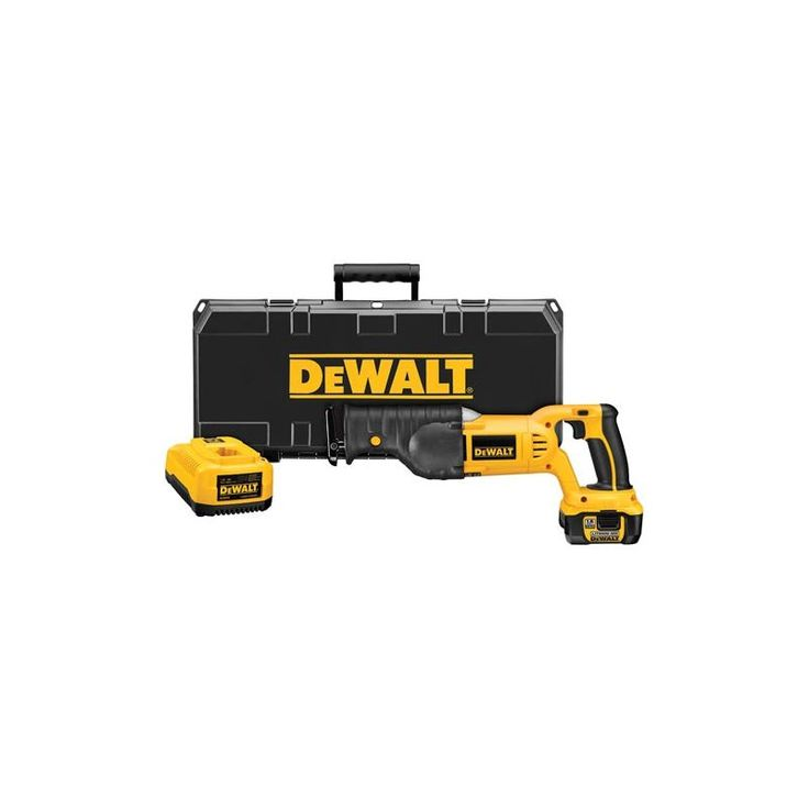 "Dewalt DCS385L 18V Cordless Li-Ion Reciprocating Saw Kit with 1-1/8"" Stroke Leng Power Tools Saws Reciprocating Saws"