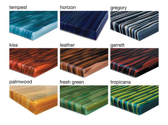 Ribbon Glass   Luscious Architectural Glass Surfaces For Countertops, Table  Tops, Partitions And More.